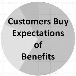 Customers buy